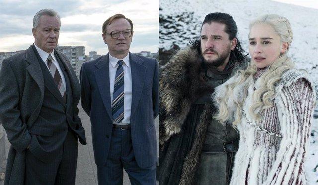 Chernobyl desbanca a Juego de tronos como la mejor serie en IMDb