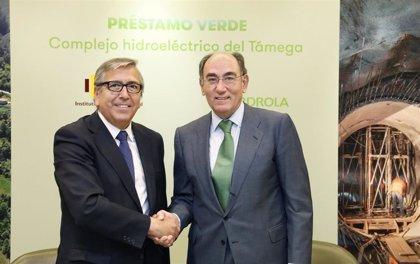 Iberdrola firma el mayor préstamo verde concedido por el ICO, con un importe de 400 millones