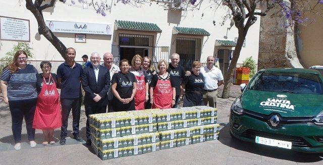 Málaga.- Los Ángeles de la Noche recibe 300 kilos de café a través de la solidaridad malagueña