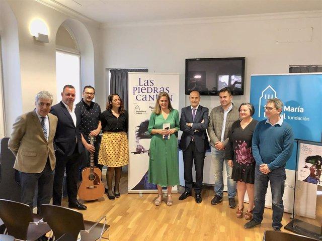 La voz de mujer protagoniza una nueva edición de 'Las piedras cantan' en Burgos, León y Cogeces del Monte (Valladolid)