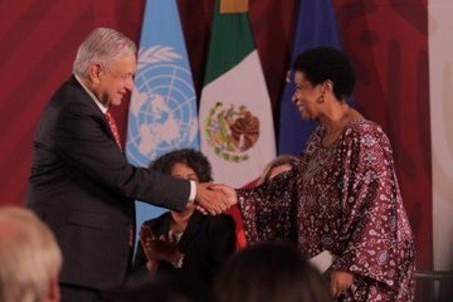 México, la UE y la ONU anuncian la creación de Spotlight, una iniciativa para eliminar la violencia contra la mujer