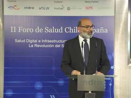 Abril-Martorell destaca la contribución de Indra a la mejora de los sistemas de salud en Chile