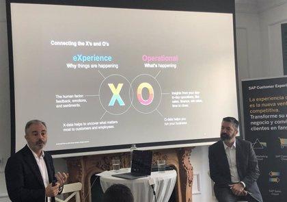 SAP prevé crecer un 70% en el negocio de experiencia de cliente y duplicar su plantilla en 2019