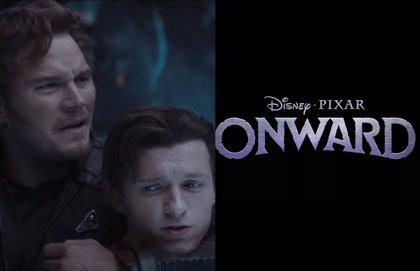 Chris Pratt y Tom Holland se convierten en elfos en las primeras imágenes de Onward, lo nuevo de Pixar