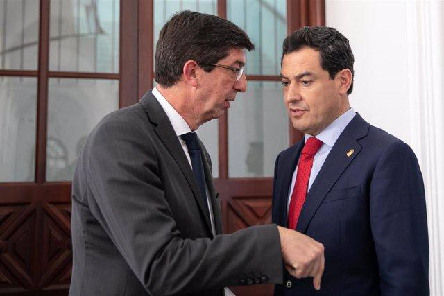 """Cs no cree que peligre la legislatura andaluza y achaca las declaraciones del PP y Vox a sus """"estrategias"""" electorales"""
