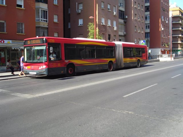"""Sevilla.-IU pide reorientar paradas antiacoso porque ve """"un peligro para las mujeres"""" las implantadas hasta ahora"""