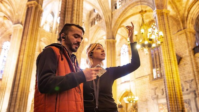 La Catedral de Barcelona incorpora guies de visita digitals amb imatges d'alta qualitat