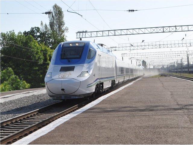 Economía/Empresas.- Talgo suministrará dos trenes de alta velocidad a Uzbekistán por 57 millones de euros
