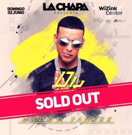 Daddy Yankee cuelga el cartel de 'sold out' en Madrid para el próximo 2 de junio en su gira 'Con calma'