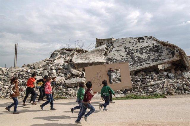 """Siria.- Once países del Consejo de Seguridad alertan contra una """"potencial catástrofe humanitaria"""" en Idlib"""