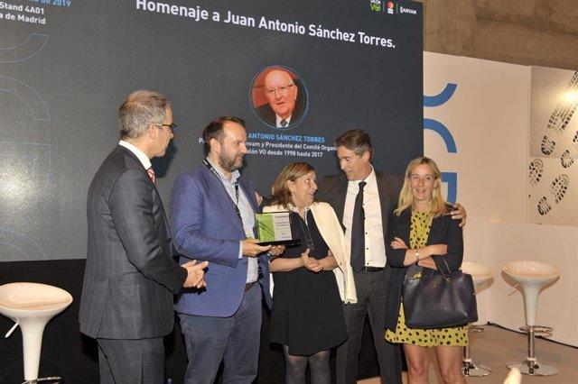 Economía/Motor.- Ganvam y el Salón VO rinden homenaje a Juan Antonio Sánchez Torres