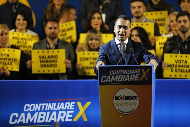 Five Star Movement campaigns for European elections in Rome