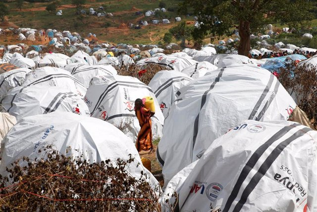 Refugiados por los enfrentamientos intercomunitarios en el sur de Etiopía