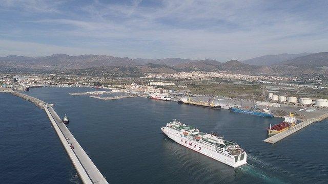 Granada.-Puertos.-El Puerto de Motril y el cónsul de Marruecos abordan la Operación Paso del Estrecho 2019