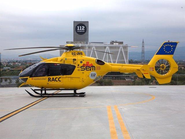 Helicóptero Del SEM, Catalunya, Emergencias