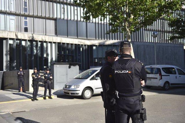 Declaracions en el Jutjat d'Instrucció número 5 d'Osca dels detinguts en l'Operació 'Oikos' sobre amaño en partits de futbol