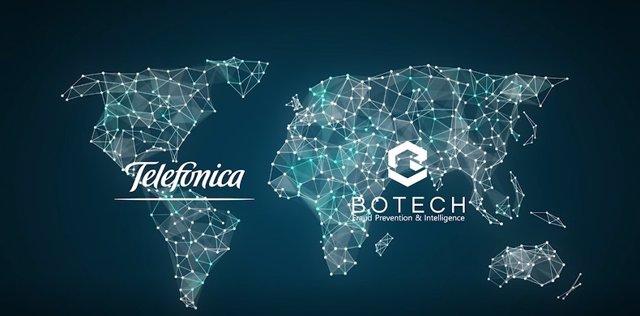 Economía.- Telefónica firma un acuerdo en ciberseguridad con Botech FPI para combatir el fraude en el sector bancario