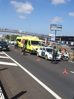 Ascienden a dos los detenidos por el atropello del agente de la Guardia Civil fallecido en Los Barrios (Cádiz)