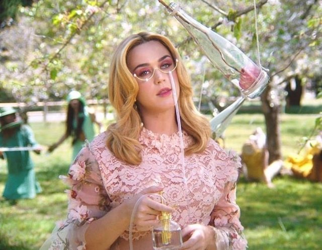 Katy Perry vuelve con nuevo single y videoclip: Never really over