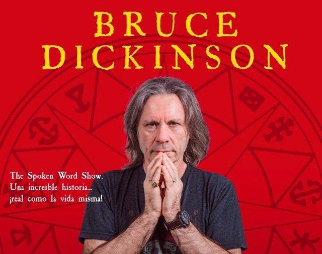 Bruce Dickinson comentará sus memorias con sus fans en el Cartuja Center de Sevilla