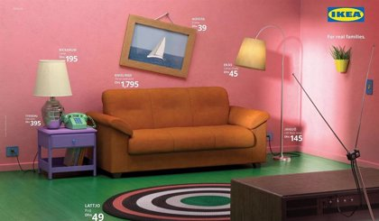 Crea con IKEA el salón de Los Simpson, Friends y Stranger Things en tu propia casa