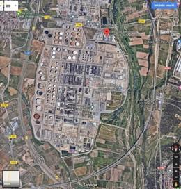 AMP.- Successos.- Un ferit crític i un altre greu després d'una fugida d'amoníac a la Pobla de Mafumet (Tarragona)