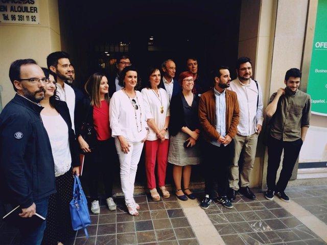 """Unides Podem quiere estar en """"todos los espacios"""", PSPV ve """"feo"""" exigir y Compromís les recuerda que tienen 8 diputados"""