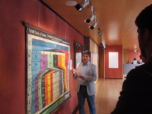 Una exposición muestra en Logroño la evolución de la imagen en la educación, desde la pizarra a los medios digitales