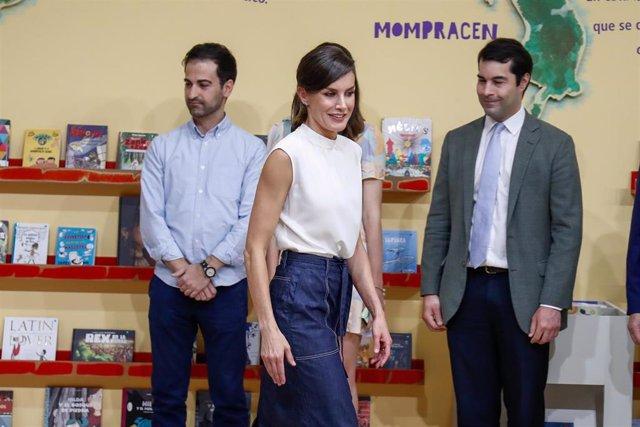 La Reina Letizia asiste a la inauguración de la 78 edición de la Feria del Libro de Madrid