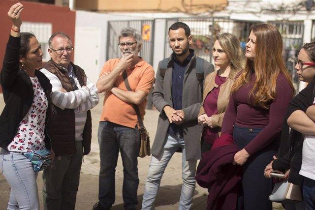 """Sevilla.- 26M.- Adelante aboga por """"sacar a Sevilla del ranking de ciudades con los barrios más pobres del país"""""""
