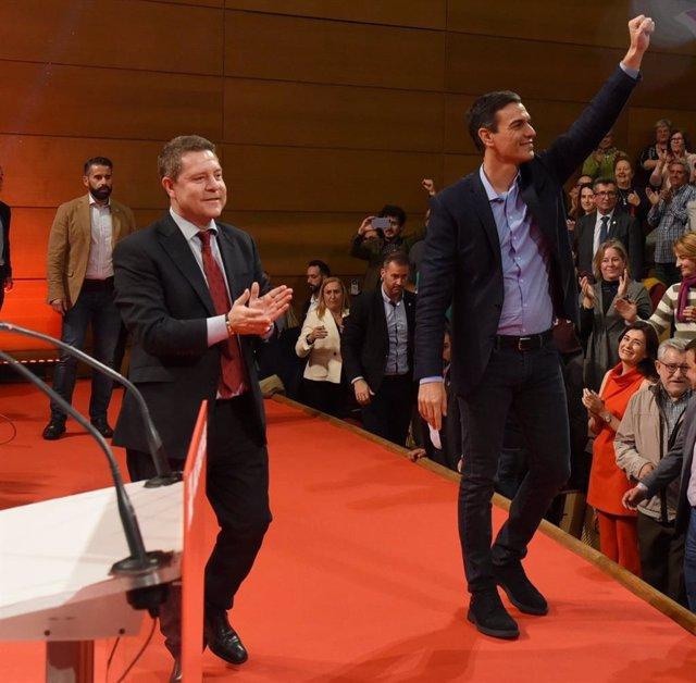 26M.- Pedro Sánchez estará este domingo en Albacete en un acto de campaña junto a Emiliano García-Page