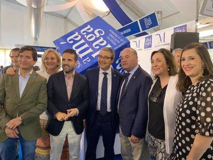 Los 'showcooking' centran la primera jornada de la feria comarcal Sabor a Málaga de Antequera