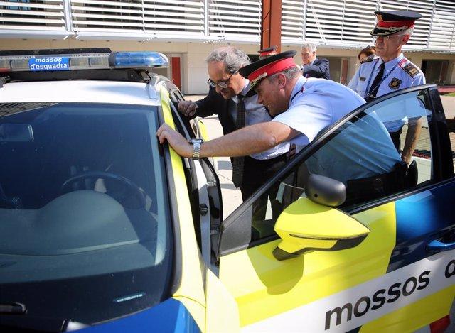 AMP.- Els Mossos avaluen 148 agents per a la nova escorta del president de la Generalitat