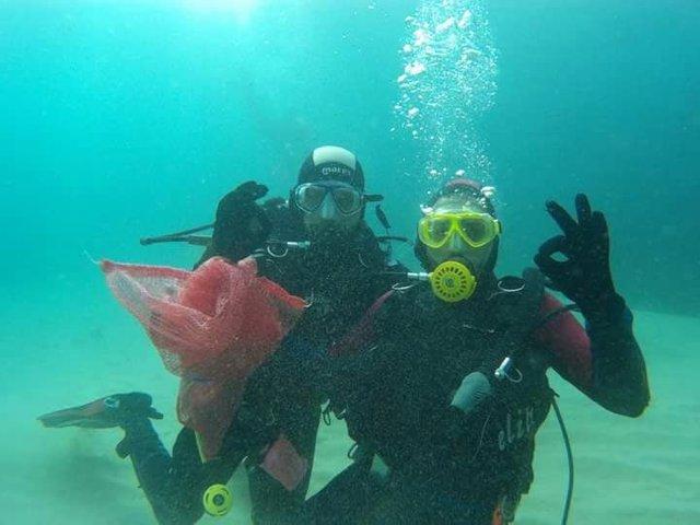 Buceadores voluntarios limpiarán el fondo marino en 30 puntos litorales de España, América y África el 14 y 15 de junio