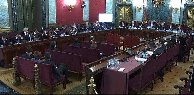 Jornada 48 del judici del procés en el Tribunal Suprem