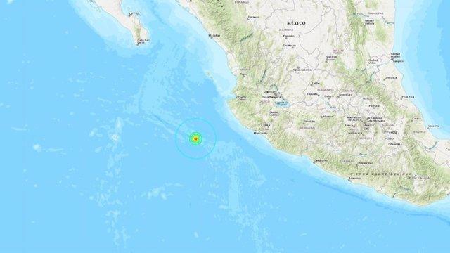 Un terremoto de 5,8 grados sacude las costas de México