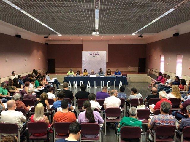 """26M.- Podemos Andalucía Llama A Un Gran Encuentro De Adelante """"Para Consolidar El Espacio De Unidad"""""""