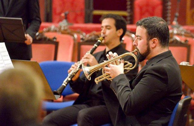 Alumnos de la Escuela de Altos Estudios Musicales ofrecen este lunes un concierto en el Paraninfo de la USC