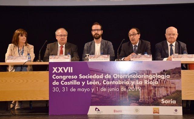 Soria acoge el Congreso de la Sociedad de Otorrinolaringología de CyL, Cantabria y La Rioja