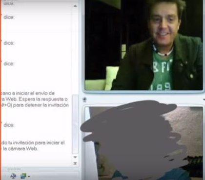 Difunden una videollamada del presentador Daniel Bisogno manteniendo una conversación sexual con otro hombre