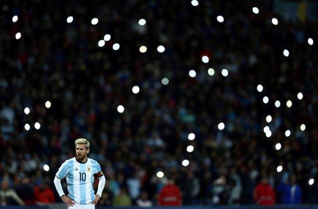 Leo Messi ya prepara la Copa América junto a la selección argentina