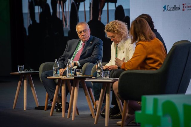 Sesión en la XXXV Reunión del Círculo de Economía 'Odeseína, la clave del progreso sostenible' en Sitges (Cataluña)