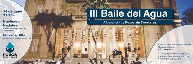 Málaga.- Pozos sin Fronteras celebrará la tercera edición del baile del Agua