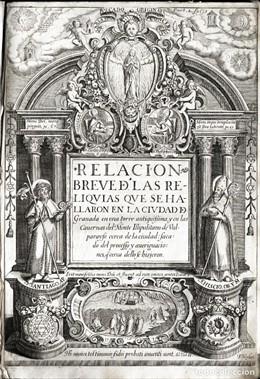 Málaga.- Subastan un libro antiguo y un manuscrito del siglo XVII relacionados con los Plomos del Sacromonte