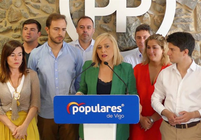"AV.- Elena Muñoz dimite como presidenta y portavoz del PP de Vigo: """