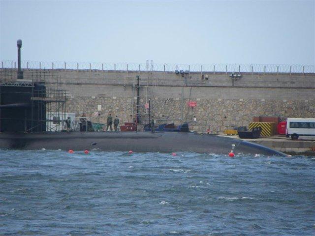 """Cádiz.- Gibraltar.- Ecologistas pide que Gibraltar """"quede libre de artefactos de propulsión nuclear"""""""