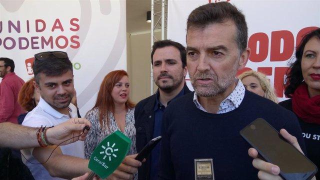 """28A.- Maíllo defiende el proyecto de cambio social y económico de Unidas Podemos frente a la """"orgía de las derechas"""""""