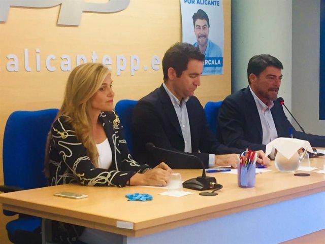 """Teodoro García: """"La ilusión electoral no puede darse al traste por partidos que no quieran sentarse en una mesa"""""""