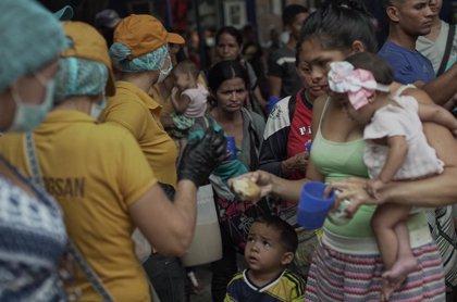 El Servicio Jesuita a Refugiados asegura que en Colombia están naciendo niños venezolanos desnutridos