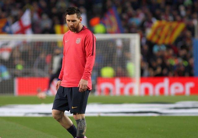 Messi continúa líder del trofeo Pichichi a falta de una jornada